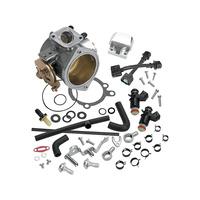 S&S Cycle SS17-5067 52mm Single Bore EFI Throttle Body/Fuel Rail Kit Big Twin'02-05 & Softail'01