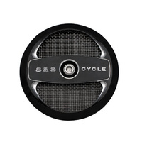 S&S Cycle SS170-0214 Air 1 Cover for Stealth Air Cleaner Black