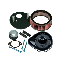 S&S Cycle SS170-0446A Mini Teardrop Air Filter Cover Black for XG500 15-Up(Exc. Street Rod)