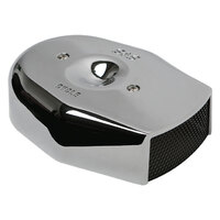 S&S Cycle SS170-0592 Tribute Air Cleaner Cover Chrome for Stealth Air Filter