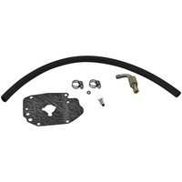 S&S Cycle SS190-0005 Fuel Hose and Inlet Upgrade Kit for Early-Style Super E/G Carburettors