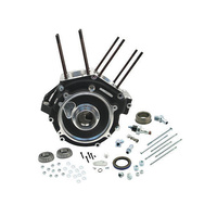 "S&S Cycle SS31-0052 Super Stock Alternator Style Crankcase Black Big Twin'84-91 3-1/2"" Bore (Stock)"