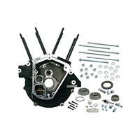 "S&S Cycle SS31-0055 Super Stock Alternator Style Crankcase Black Big Twin'92-99 3-1/2"" Bore"