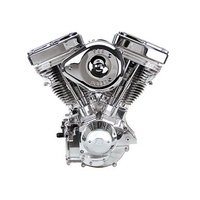 S&S Cycle SS31-9886 V124 Complete Assembled Engine Polished w/Super G Super Stock Ignition