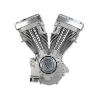 S&S Cycle SS310-0232 V80 Long Block Engine (Replaces Evolution Engine) Natural No Carb Ignition or Fluids