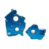 S&S Cycle SS310-0997B Oil System for M8 17up/FLH w/Water Cooled Models (Pump & Cam Plate)