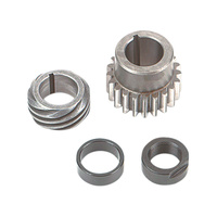 S&S Cycle SS33-4148 Pinion Shaft Conversion Kit Red Big Twin 90up