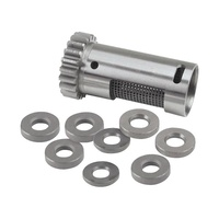 S&S Cycle SS33-4250 Breather Gear Kit Standard Size Big Twin'L77-99 Std w/Shims Steel Rotary; H/Evacuation