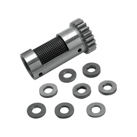 S&S Cycle SS33-4253 Steel Breather Gear Kit Standard Big Twin'48-E77 Std w/Shims Rotory Steel H/Evacuation