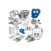 S&S Cycle SS330-0577 Power Pack Silver 100ci Big Twin'99-06 w585GE Cams Silver 100ci Cylinder's