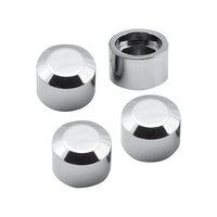 S&S Cycle SS50-0333 Head Bolt Covers Chrome for S&S Motors Only (4 Pack)