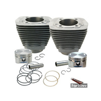 S&S Cycle SS910-0179 Cylinder Kit Big Twin'84-99 Nat OEM Replacement Inc. Piston Kit & Gasket