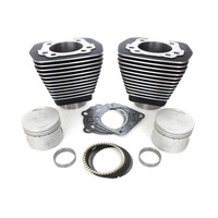 S&S Cycle SS910-0182 Cylinder Kit Big Twin'84-99 Black OEM Replacement Inc. Piston Kit & Gasket
