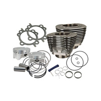 """S&S Cycle SS910-0651 4"""" Sidewinder Big Bore Kit Black for Big Twin'07-17 Models"""