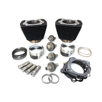 S&S Cycle SS910-0699 1200cc Hooligan Big Bore Kit Black for Sportster 2000up w/883cc Engine