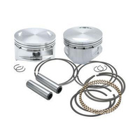 """S&S Cycle SS920-0100 Pistons Big Twin 07-Up107"""" Std 3.937"""" Bore (Pair)"""