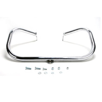 SuperTrapp ST-10-5012-01 Highway Bar Engine Guard Chrome for FXST'00-17 (inc FXCW, FXSB)