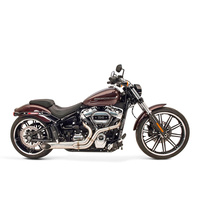SuperTrapp ST-135-71670 BootLegger 2-1 Exhaust Stainless Steel for Softail 18-Up