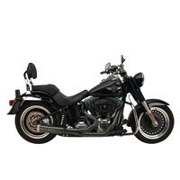 SuperTrapp ST-827-74680 Fat Shot 2-1 Exhaust Black for S/Tail'86-17