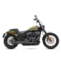 SuperTrapp ST-827-74684 Fat Shot 2-1 Exhaust Black for S/Tail'18up M8 (All Softail Models)