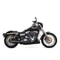 SuperTrapp ST-827-74690 Fat Shot 2-1 Exhaust Black for FXD'06-17