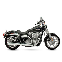 SuperTrapp ST-828-71574 SuperMeg 2-1 Exhaust Chrome for FXD'06-later