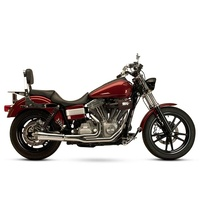 SuperTrapp ST-828-74690 FatShot 2-1 Exhaust Chrome for Dyna 06-17