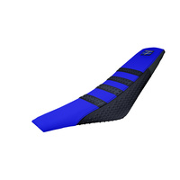 Stompgrip Gripper Seat Cover Blue/Black for Yamaha YZ125/X/YZ250/X/YZ250F/YZ400F/YZ426F/YZ450F/WR450F