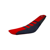 Stompgrip Gripper Seat Cover DB16SPR Red/Black for Honda CRF 250/CRF 450 Models
