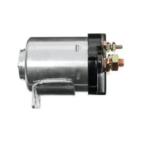 Standard Motorcycle Products MC-STS1C Starter Solenoid Chrome for Big Twin 65-86 w/4 Speed/Softail 84-88/Sportster 67-80