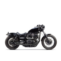 Two Brothers Racing TBR-005-3690199-BLK Comp-S 2-1 Exhaust Black w/Black End Cap for Yamaha Bolt 13up