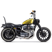 Two Brothers Racing TBR-005-4110199 Comp-S 2-1 Exhaust Stainless Steel w/Carbon Fiber End Cap for Sportster 04-13