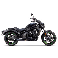 Two Brothers Racing TBR-005-4200199-BLK Comp-S 2-1 Exhaust Black for Kawasaki Vulcan S 650'15up