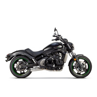 Two Brothers Racing TBR-005-4200199 Comp-S 2:1 Exhaust Stainless for Kawasaki Vulcan S 650 15up