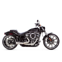 Two Brothers Racing TBR-005-5120199 2-1 Turnout Exhaust Stainless Steel for Softail'18up (exc FXBR/FLFB/FXDR)