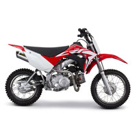 Two Brothers Racing TBR-005-5190104M M6 Full Exhaust System for Honda CRF110F 19-Up