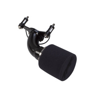 Two Brothers Racing TBR-034-376-03-BLK Moto Intake Air Filter Black for FXD'99-17 (Cable Throttle Only)