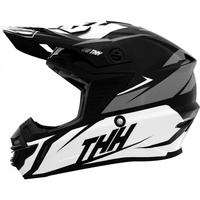 THH TX-15 Adult Helmet Loto Black/White/Grey