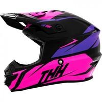 THH TX-15 Youth Helmet Loto Pink/Purple