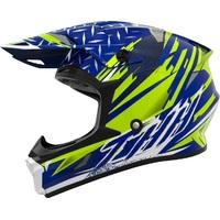 THH T710X Youth Helmet Assault Matte Blue/Yellow