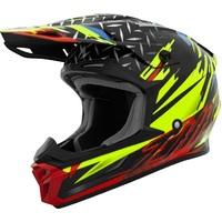 THH T710X Helmet Assault Matte Yellow/Red