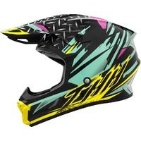 THH T710X Helmet Assault Teal/Yellow