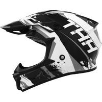 THH T710X Youth Helmet Rage Black/White