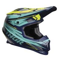 Thor 2020 Sector Helmet Warp Navy/Teal