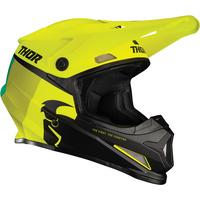 Thor 2021 Sector Helmet Racer Acid/Lime