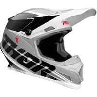 Thor 2021 Sector Helmet Fader Black/White
