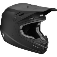 Thor 2021 Sector Youth Helmet Solid Black