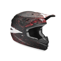Thor 2019 Sector Youth Helmet Hype Black/Coral