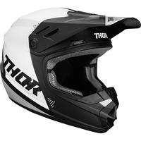 Thor 2020 Sector Youth Helmet Blade Black/White