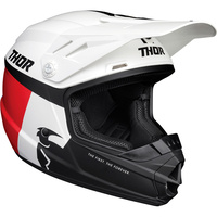 Thor 2021 Sector Youth Helmet Racer White/Blue/Red